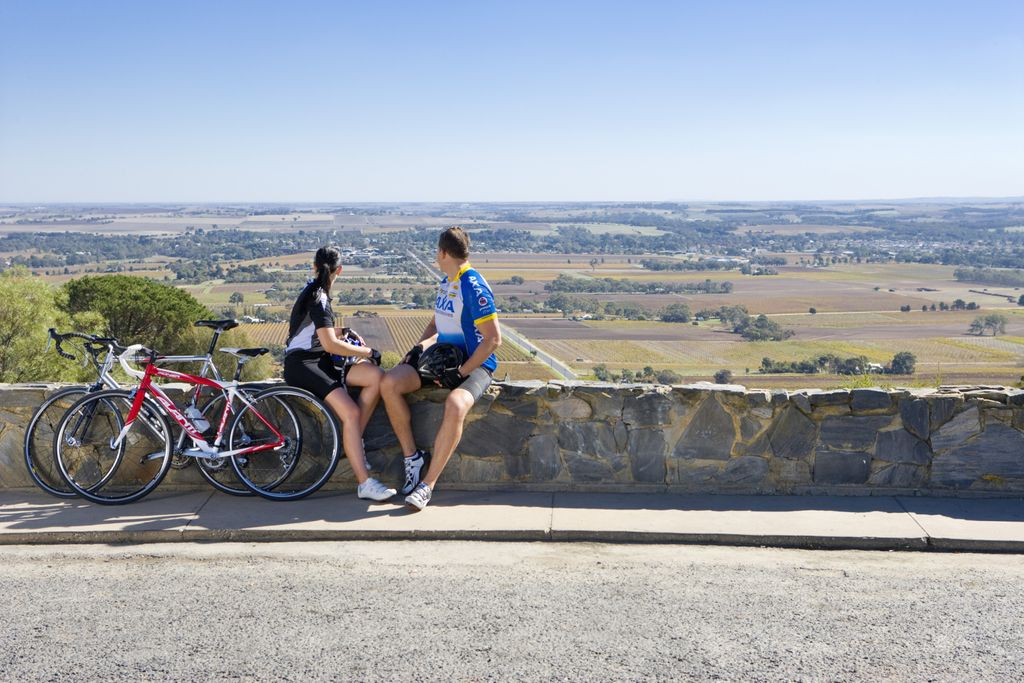 Cycling in Barossa