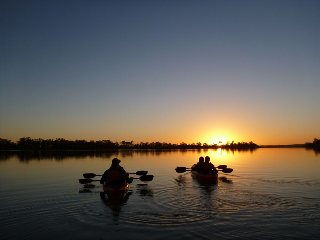 Canoeing in Riverland