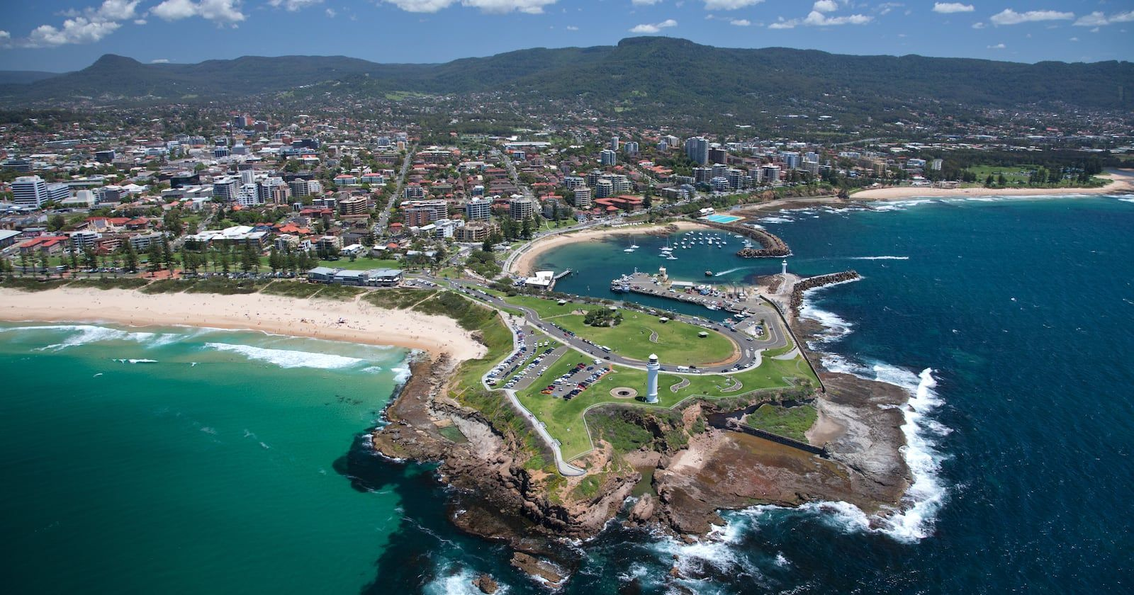 Wollongong from above banner image