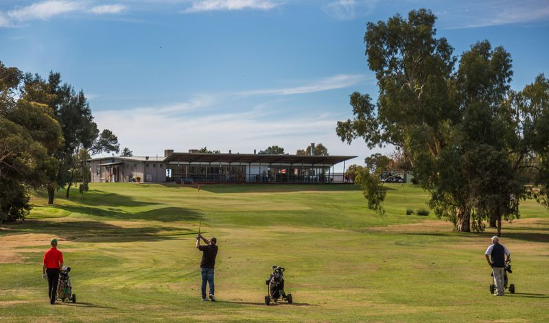 golf course in the riverland