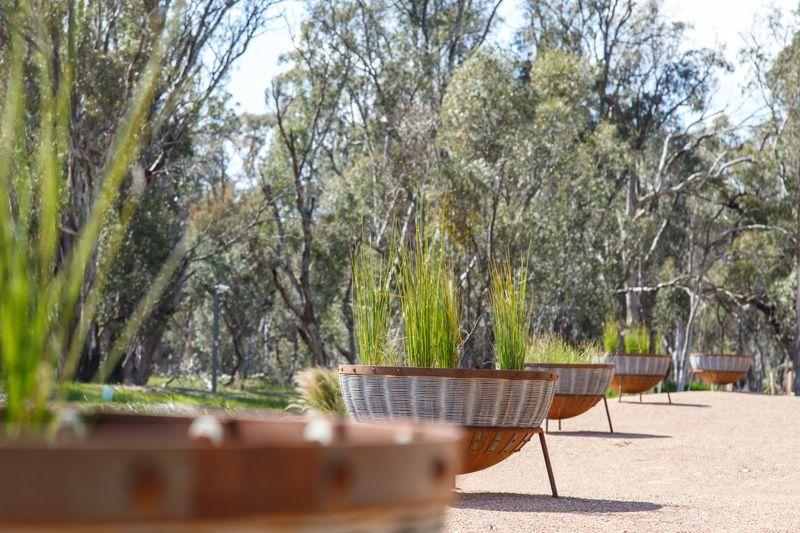 Australian botanic gardens shepparton plan pots